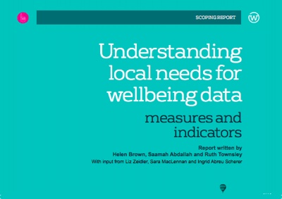 Understanding Local Wellbeing Indicators Project Report